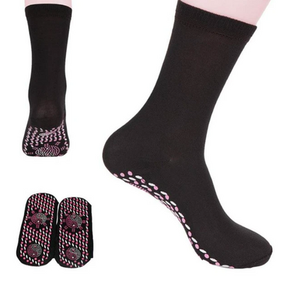 Tourmaline Self Heating Magnetic Therapy Socks
