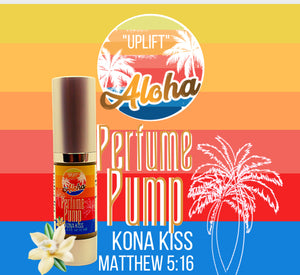 PERFUME PUMP WITH A PURPOSE ALOHA
