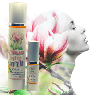HAWAIIAN BEAUTY ANTI-AGING CUPPING OIL DUO