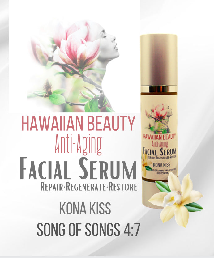HAWAIIAN BEAUTY ANTI-AGING FACIAL SERUM