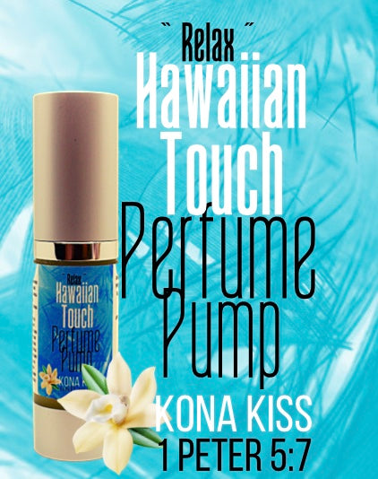 PERFUME PUMP WITH A PURPOSE HAWAIIAN TOUCH