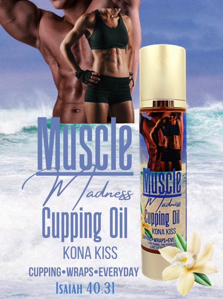 CUPPING OIL MUSCLE MADNESS