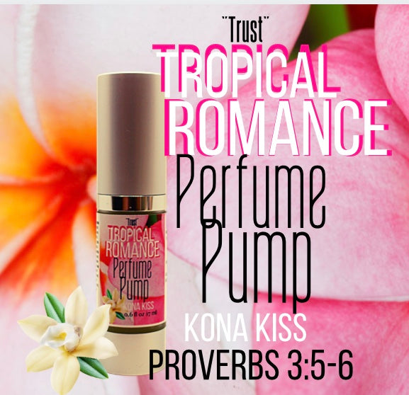 PERFUME PUMP WITH A PURPOSE TROPICAL ROMANCE