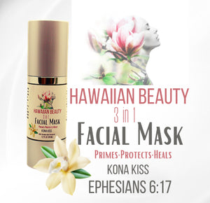 HAWAIIAN BEAUTY ANTI-AGING 3-1 FACIAL MASK