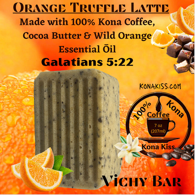 VICHY BAR ORANGE TRUFFLE