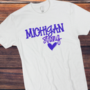 Michigan strong blue
