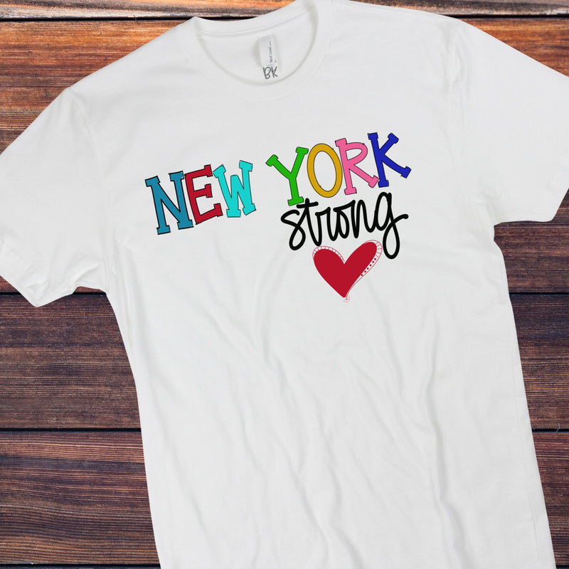 New York strong multi color