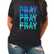 Pray on it over it through it screenprint *ships 7/6