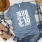 *BK EXCLUSIVE* JOHN 3:16 white screenprint