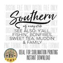 DIGITAL DOWNLOAD PNG-southern