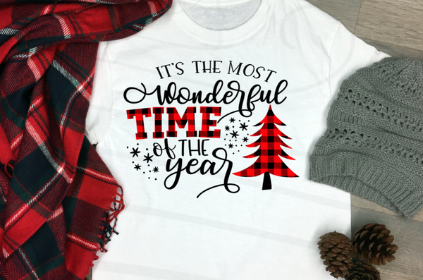 The most wonderful time of the year screenprint