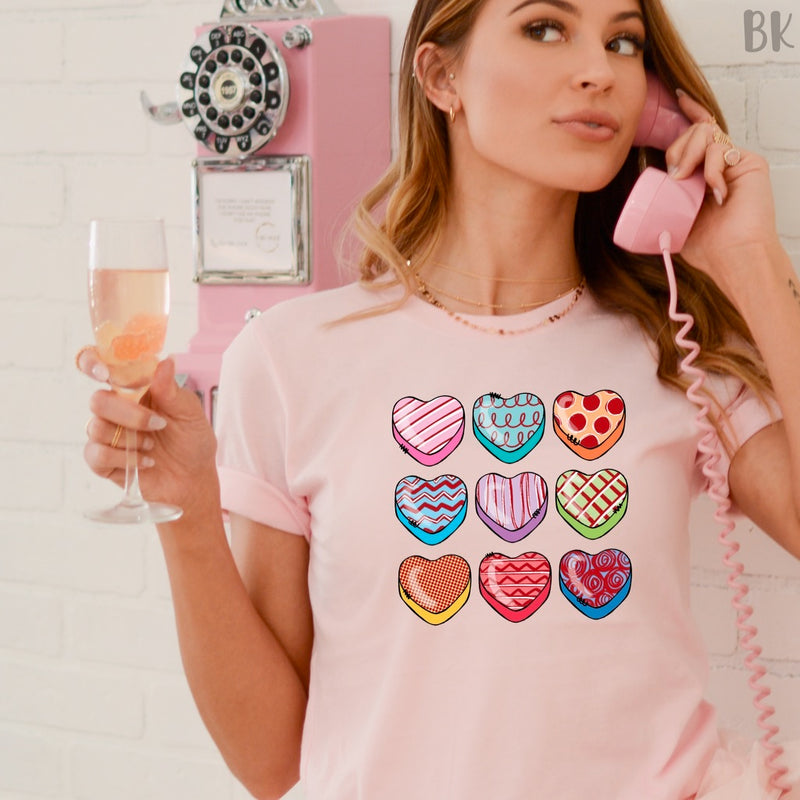 *BK EXCLUSIVE* Sweetheart Valentines Full color Screenprint