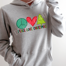 Peace love Christmas Screenprint