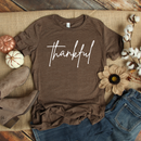 *BK EXCLUSIVE* Script thankful Screenprint