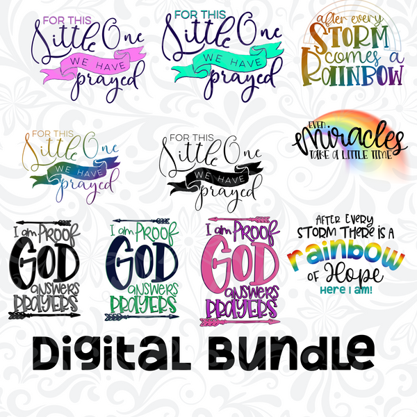 DIGITAL DOWNLOAD PNG-Baby bundle
