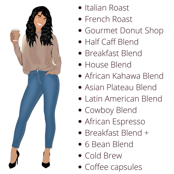 Coffee Blends for Black Owned Coffee Company