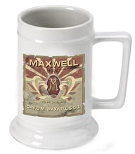 Load image into Gallery viewer, Personalized Ceramic Beer Stein - Personalized Ceramic Beer Mug - All