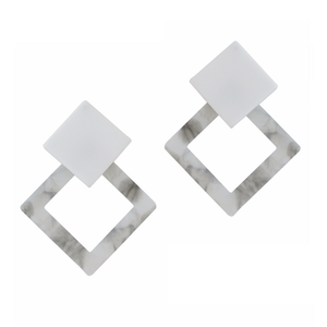 VIENNA EARRINGS (SMOKE)