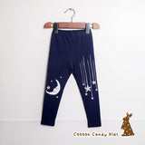 Moon and star leggings