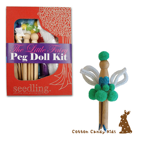The little fairy peg doll kit