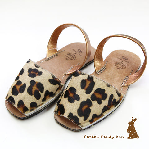 CCK X Riudavets Leopard happy shoes