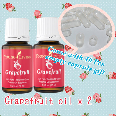 Grapefruit essential oil set