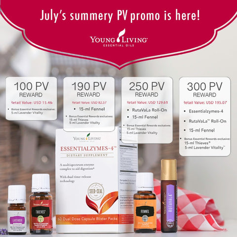 Young Living US promotion 7/2017