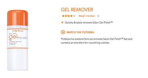 Sally Hansen Salon Pro Gel Remover