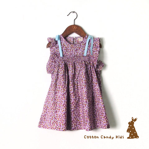 Flower dot dress