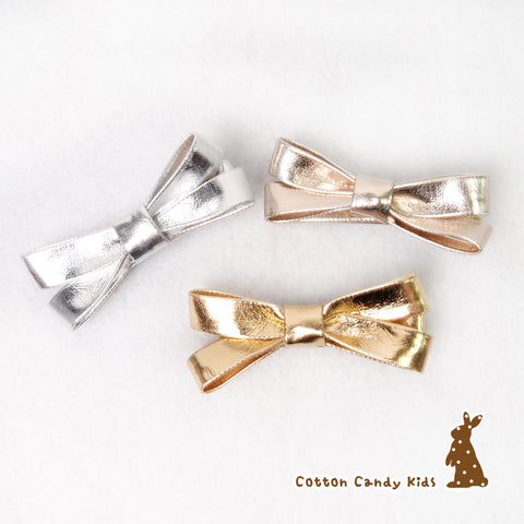 Metalic Bow Hairclip