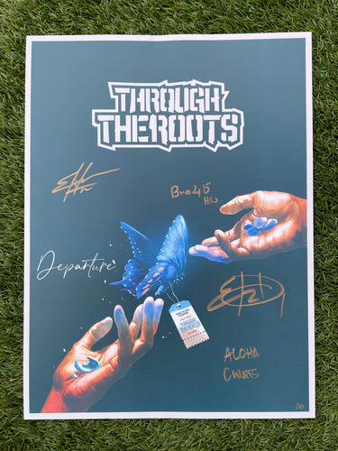 18x 24 Limited Edition Signed Departure Poster
