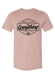 Music Over Everything T-shirt