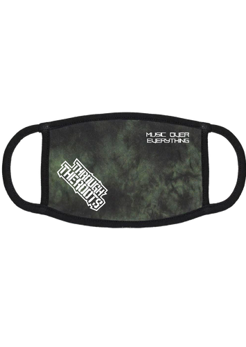 Music Over Everything Green Wash Mask