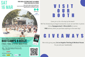 WIN A PAIR OF LOS ANGELES TOTE BAG & WORKOUT PASSES TO BOOTCAMPS X BOOZE AT TANJONG BEACH CLUB