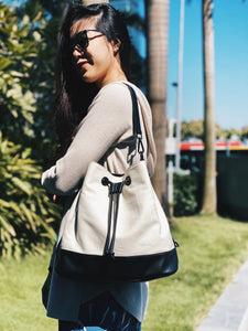 California Bucket Bag - Off-White