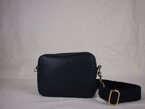 Prague Crossbody Bag in Black