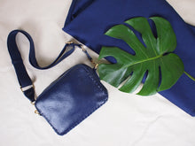 Prague Crossbody in Midnight Blue
