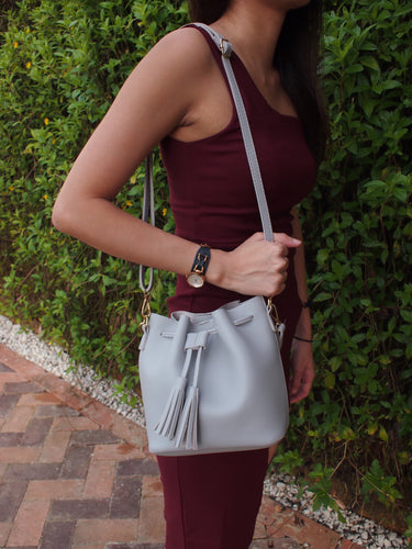 Seville Bucket Bag - Grey
