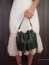 Seville Bucket Bag - Forest Green