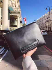 Oxford Document Clutch - Black