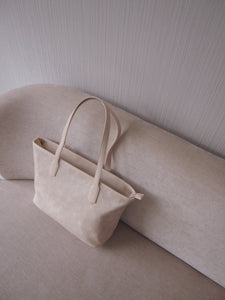Functional Bag Tote with compartments Barcelona Tote Cream Cloud