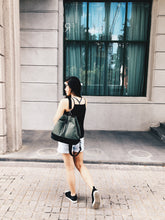 California Bucket Bag - Hunter Green