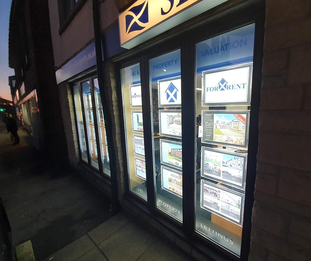 SB property Glasgow Road, Dumbarton, Estate and Letting Agents