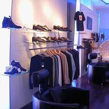 Retail display using cable system
