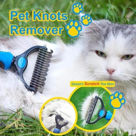 2 Pack - Pet Fur Knots Remover