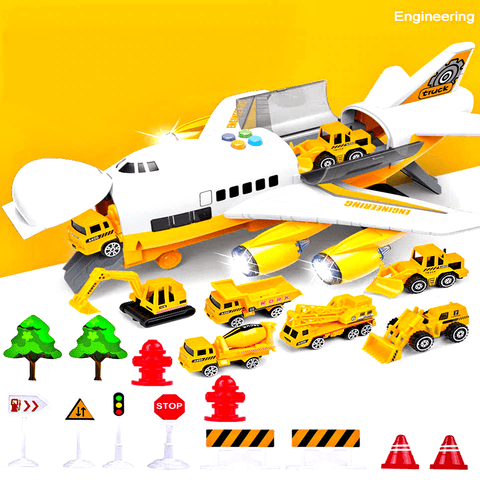 HAPPYKID® Airplane Toy Model For Kids Toddlers