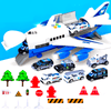 Image of HAPPYKID® Airplane Toy Model For Kids Toddlers