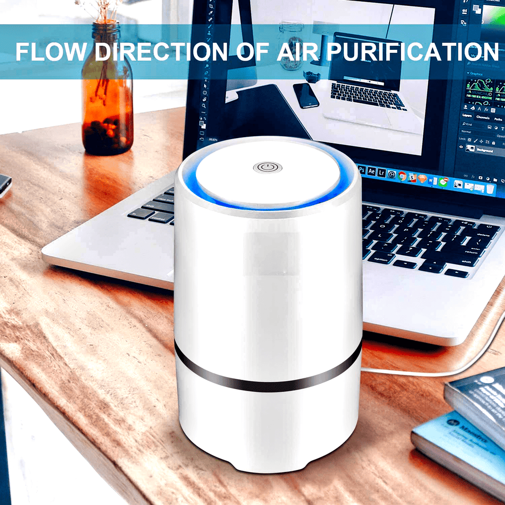 AIRMAGIC® Personal Mini Portable Air Purifier Cleaner With True HEPA Technology