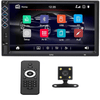 Image of Car Touch Screen Radio double din 7 touch screen radio stereo bluetooth touchscreen car radio