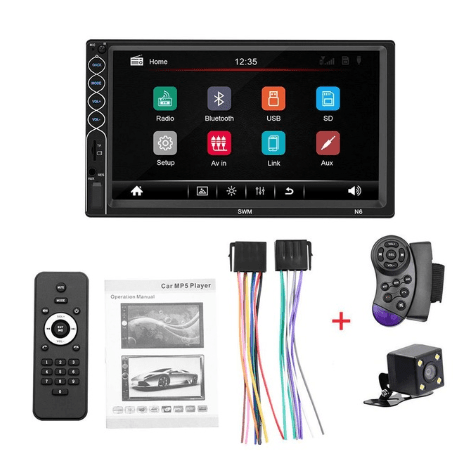 Car Touch Screen Radio double din 7 touch screen radio stereo bluetooth touchscreen car radio